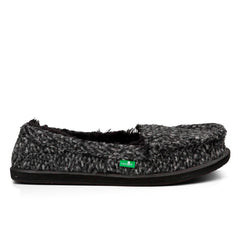 Sanuk Meltaway Slip on loafer - Black - Womens