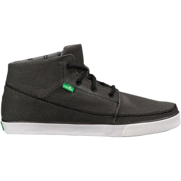 Sanuk Highrise Sidewalk Surfers Footwear  - Black - Mens