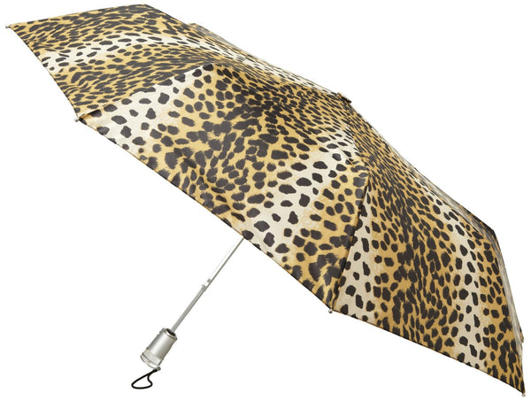 Totes  Signature Basic AOC Compact Umbrella  - Leopard