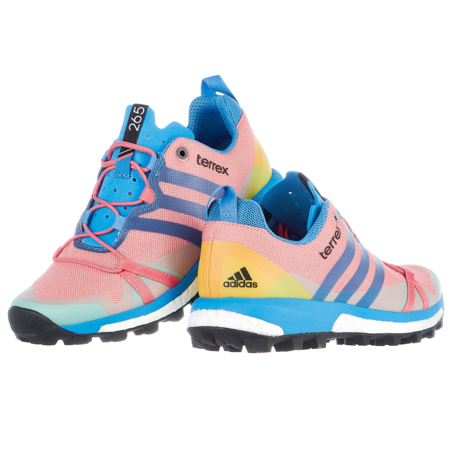 the best attitude 9d518 c1fb5 Adidas Outdoor Terrex Agravic Round Toe Canvas Trail Running - Women s -  Shoplifestyle