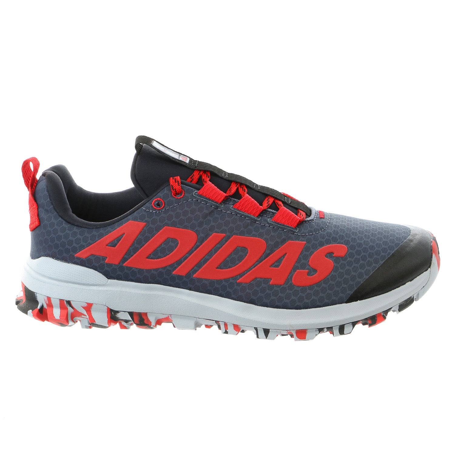 b54140879c106 Adidas Vigor 6 TR M Trail Running Sneaker Shoe - Black Red Light Grey - Mens