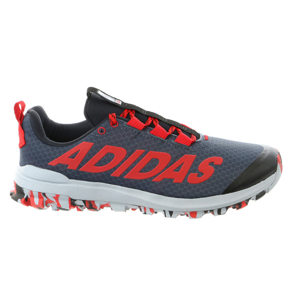 Adidas Vigor 6 TR M Trail Running Sneaker Shoe - Black/Red/Light Grey - Mens