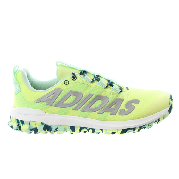 Adidas Vigor 6 TR W Trail Running Sneaker Shoe - Frozen Yellow/Silver/Green - Womens