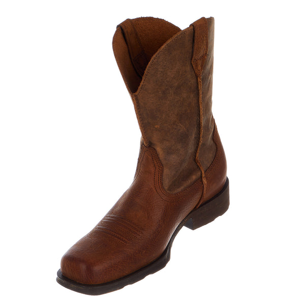 Ariat Rambler Wide Square Toe Western Cowboy Boot - Men's