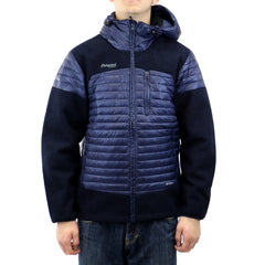 Bergans of Norway Osen Down / Wool Jacket  - Navy - Mens
