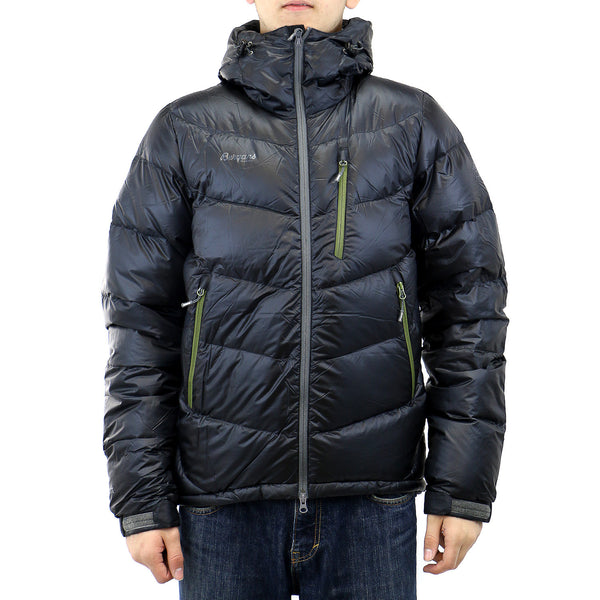 Bergans of Norway Memurutind Down Jacket  - Black/Green Tea - Mens