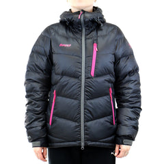 Bergans of Norway Memurutind Down Lady Jacket  - Black/Hot Pink - Womens