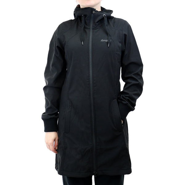 Bergans of Norway The Vika Lady Coat  - Solid Black - Womens