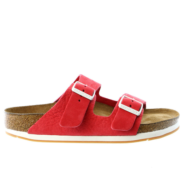 Birkenstock Arizona Sport Soft Footbed Sandal - Red Nubuck - Womens