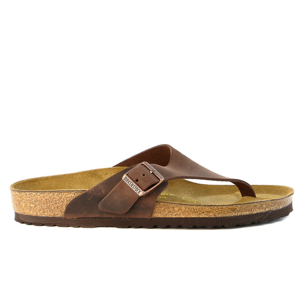 Birkenstock Como Adjustable Thong Cork Sandal - Habana - Mens