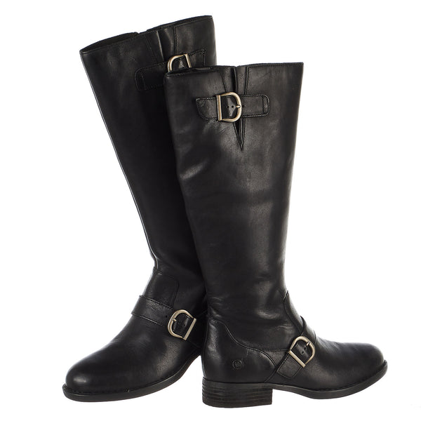 Born Poole Tall Leather Boots - Women's