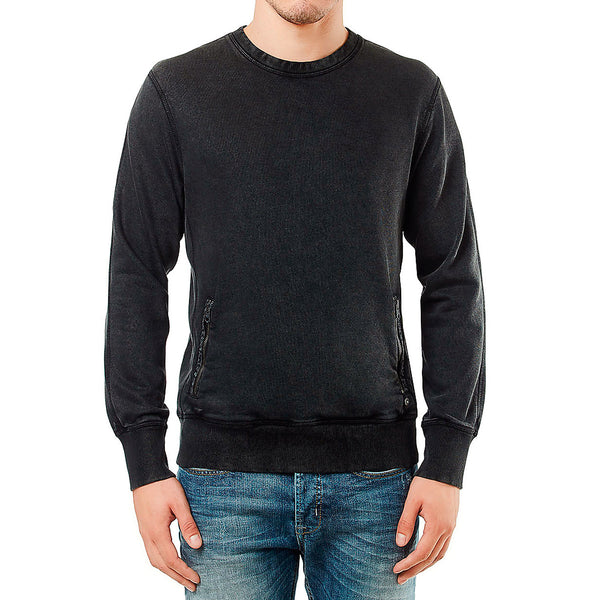 Buffalo Facon L/S Crew Sweatshirt - Cannon - Mens