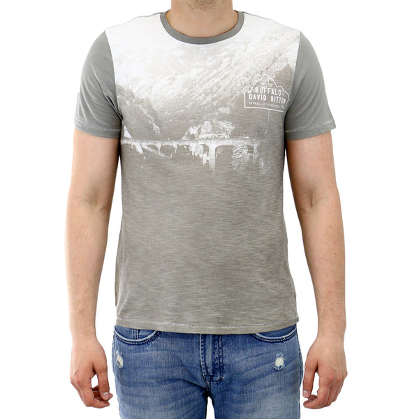 Buffalo Nachel Short Sleeve Fashion Tee - Ardent - Mens