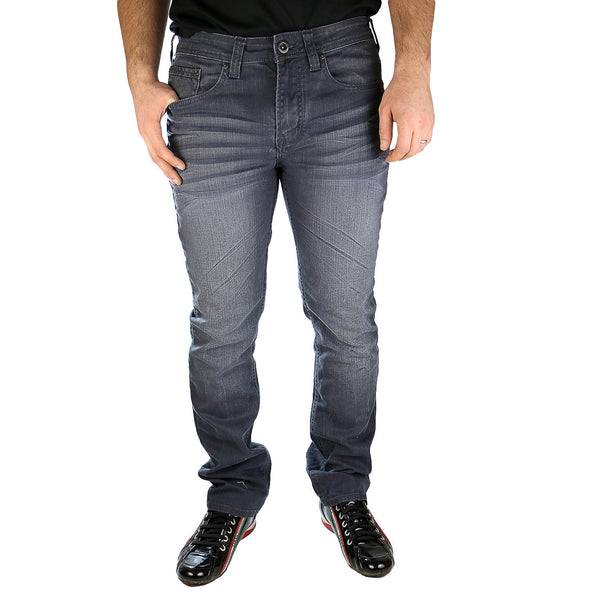 Buffalo by David Bitton Evan-X Jeans - Crinkled and Painted - Mens