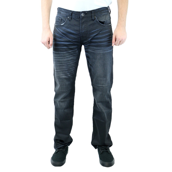 Buffalo by David Bitton Six-X Basic Jeans - Lightly Sanded and Rifted - Mens