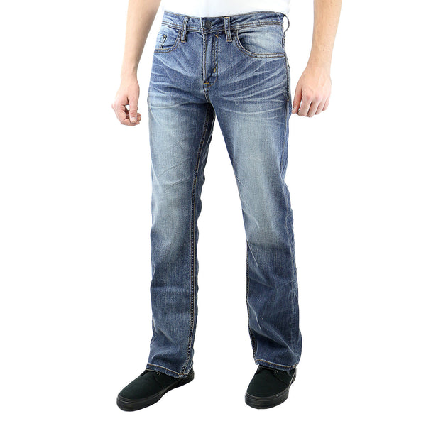 Buffalo by David Bitton Game-X Basic Jeans - Sanded Damaged and Repaired - Mens