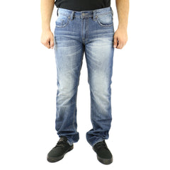 Buffalo by David Bitton Driven Basic Jeans - Damaged/Repaired And Painted - Mens