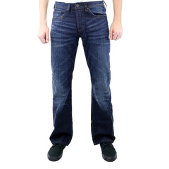 Buffalo by David Bitton King Basic Jeans - Stone Washed And Worn - Mens