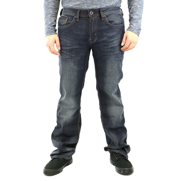 Buffalo Driven-X Jeans - Contrasted And Blasted - Mens