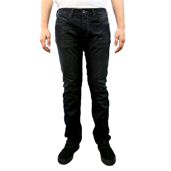 Buffalo by David Bitton Evan-X Slim Fit Stretch Jeans - Clean/Refined - Mens