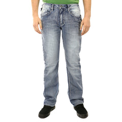 Buffalo Driven-X Boot Cut Jeans - Indigo - Mens