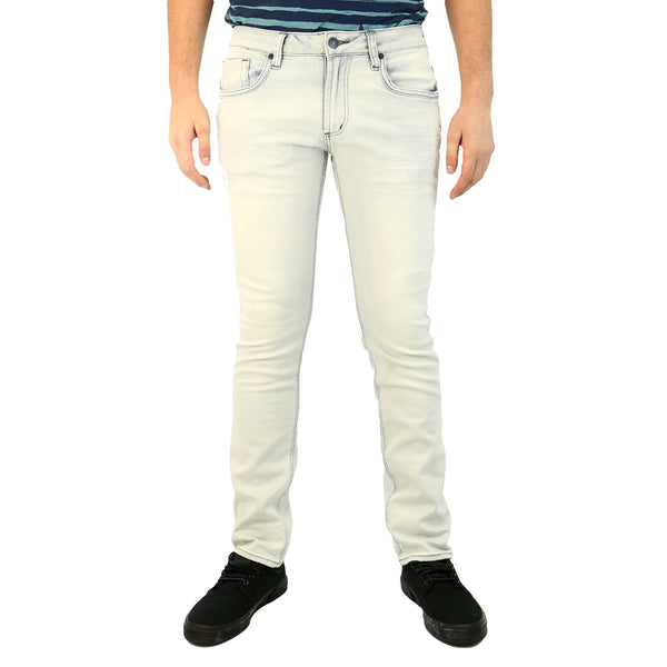Buffalo Ash-X Basic Jeans - Sanded Wash - Mens