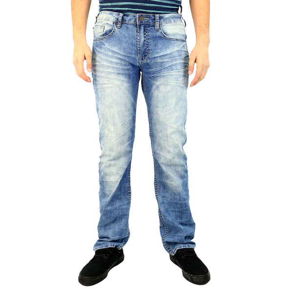 Buffalo Six-X Basic Jeans - Fixed and Contrasted - Mens