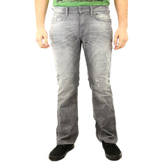 Buffalo King-X Straight Leg Jeans - Grey - Mens