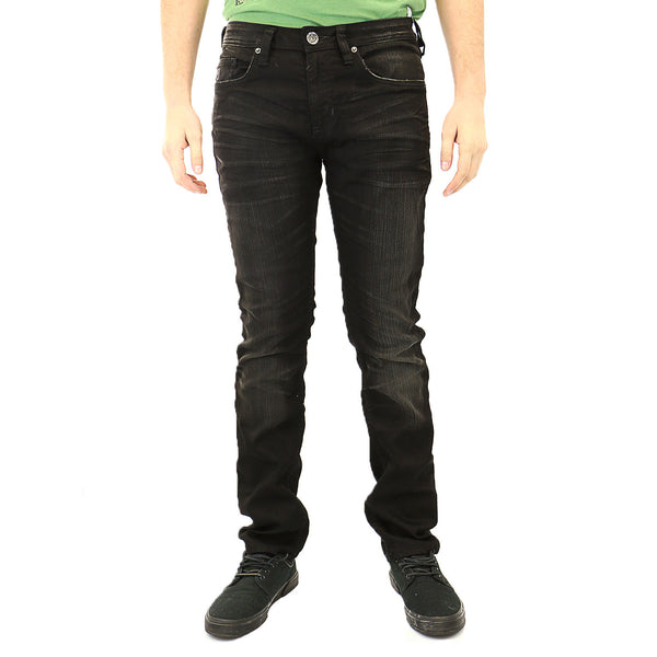 Buffalo Evan-X Slim Fit Jeans - Black - Mens
