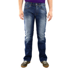 Buffalo by David Bitton Driven-X Basic Slim Boot Jeans - Dark Sanded and Vein - Mens