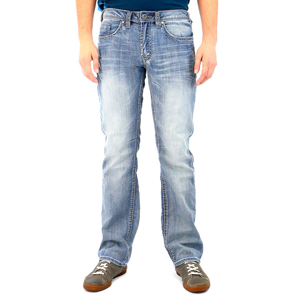 Buffalo Six-X Jeans - Heavy Stonewashed - Mens