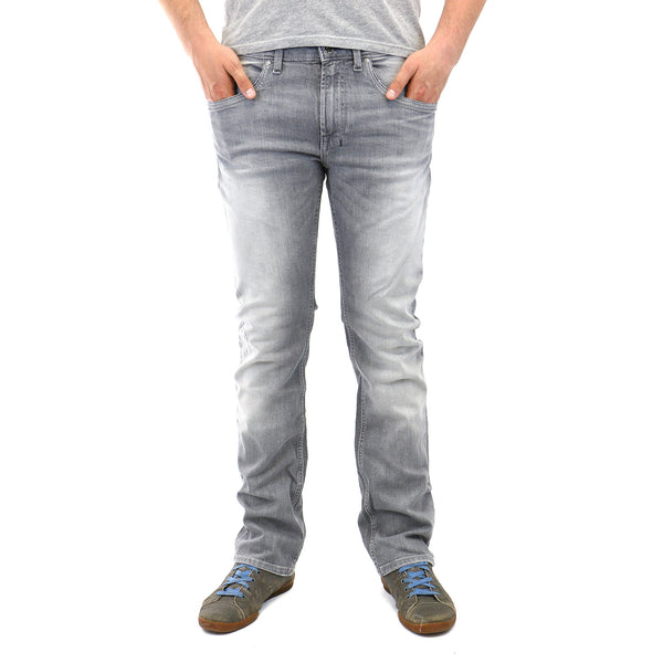 Buffalo Six-X Slim Straight Jeans - Grey - Mens
