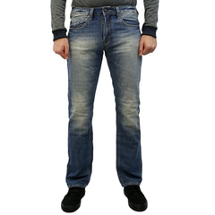 Buffalo Evan Slim Leg Jean - Washed Out and Dirty - Mens