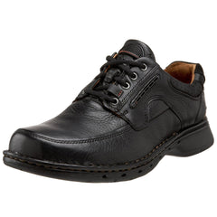 Clarks Unstructured  Un.Bend Casual Oxford  - Black - Mens