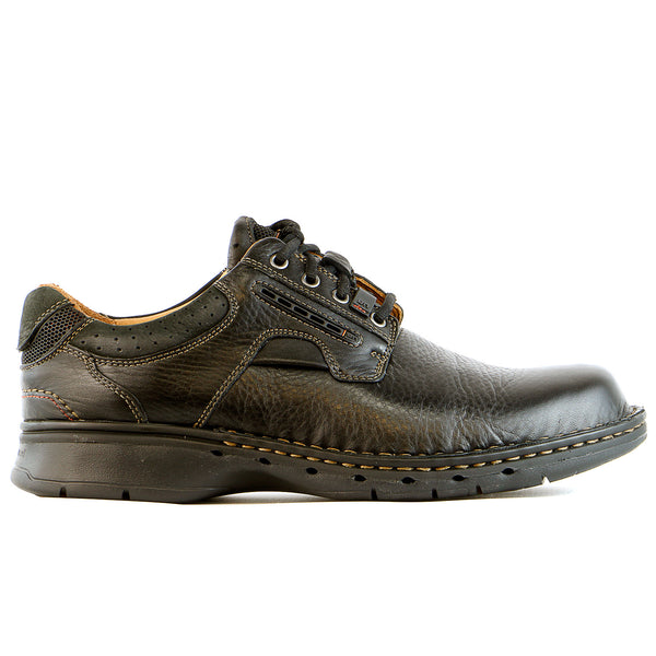 Clarks Unstructured Un.Ravel Casual Oxford  - Black - Mens