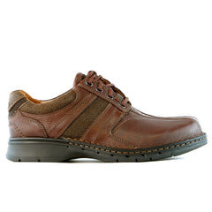 Clarks Unstructured Un.Coil Casual Oxford  - Brown - Mens