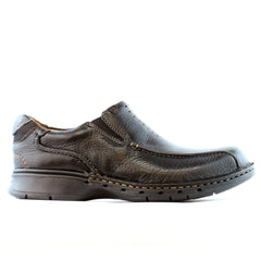 Clarks Unstructured Un.Seal Casual Slip On  - Black - Mens
