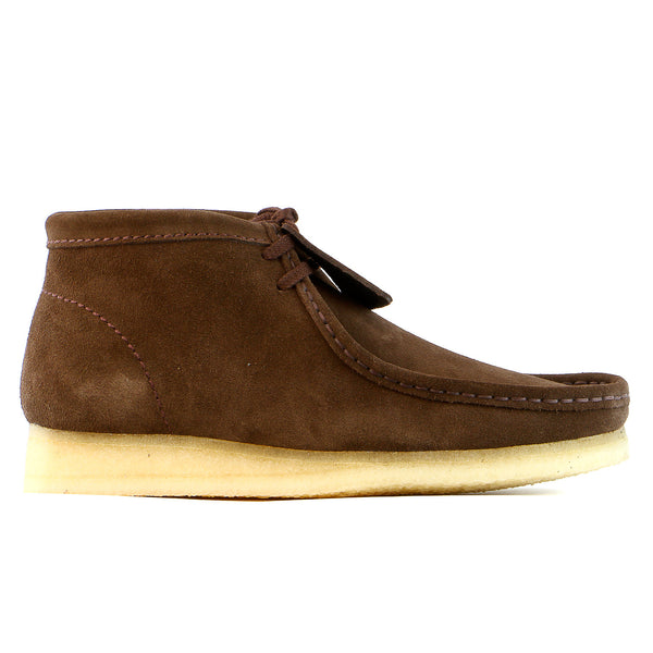 Clarks  Wallabee Boot  - Brown Suede - Mens
