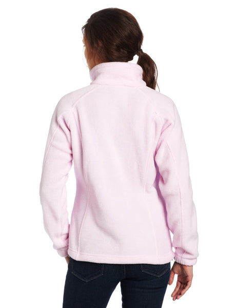 Columbia Tested Tough In Pink Benton Springs Full Zip Jacket - Women's