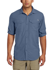 Columbia Silver Ridge Long Sleeve Button Down Shirt - Sun protection collar - Mens
