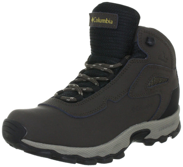 Columbia Newton Waterproof Hiking Boot  - Cordovan/Sauterne - Boys