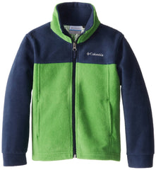 Columbia Steens Mt Overlay Jacket  - Clean Green/Collegiate Navy - Boys