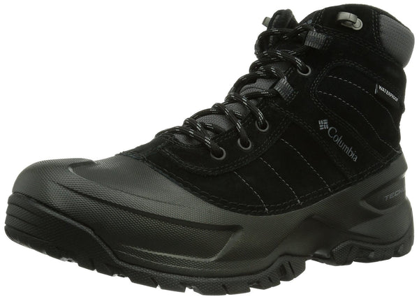 Columbia Snowblade Waterproof Cold Weather Boot  - Black/Charcoal - Mens