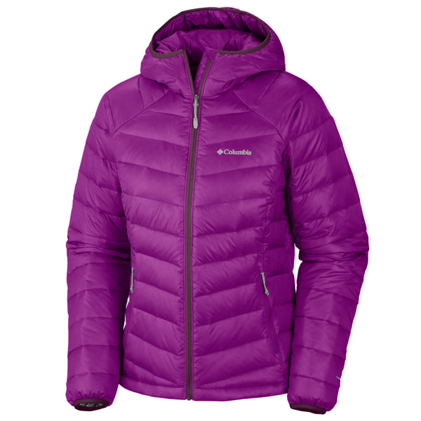 Columbia Platinum 860 Turbodown Hooded Down Jacket -Womens