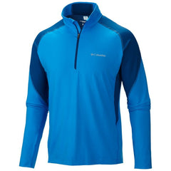 Columbia Freeze Degree Long Sleeve Athletic Shirt - Hyper Blue - Mens