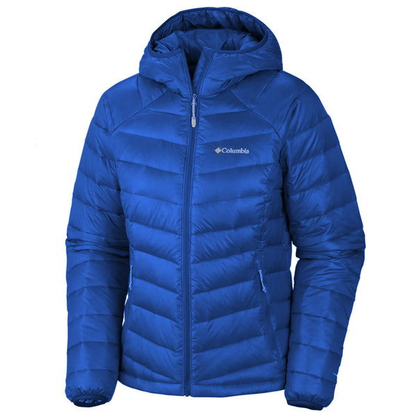 Columbia Platinum Plus 860 TurboDown Hooded Down Jacket - Womens