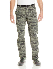 Columbia Silver Ridge Printed Cargo Pants - Gravel Camo Print - Mens