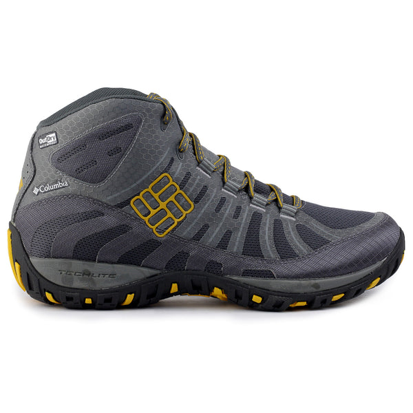 Columbia Peakfreak Enduro Mid OutDry Hiking Shoe - Coal/Squash - Mens
