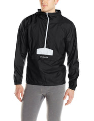 Columbia Flashback Windbreaker Rain Pullover Jacket - Black - Mens