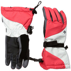 Columbia Bugaboo Interchange Gloves  - Red Hibiscus - Womens